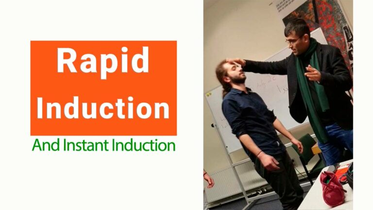 Rapid Induction Hypnosis (Why it is good and must be used)