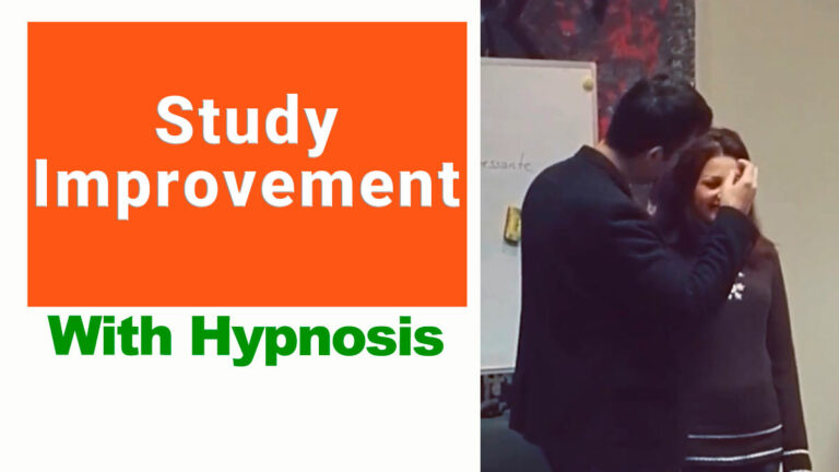 Hypnosis for study improvement