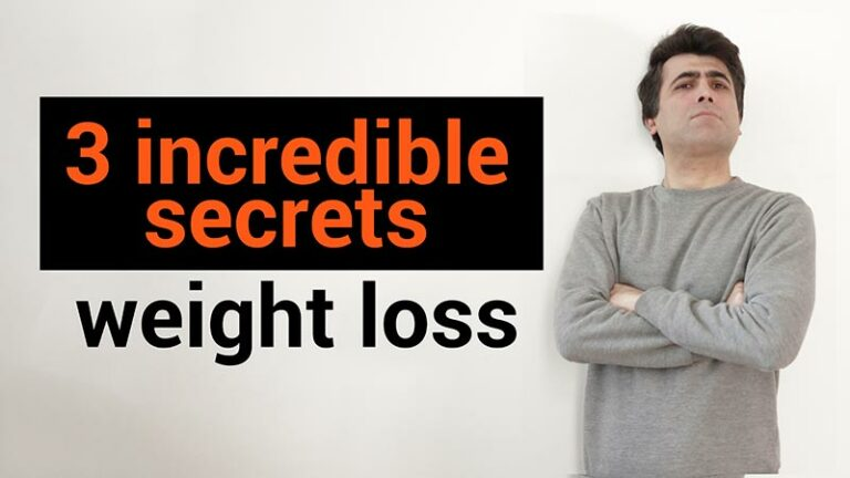 3 incredible secrets for dietary weight loss